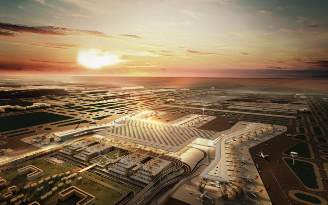 istanbul new airport 2018 visual